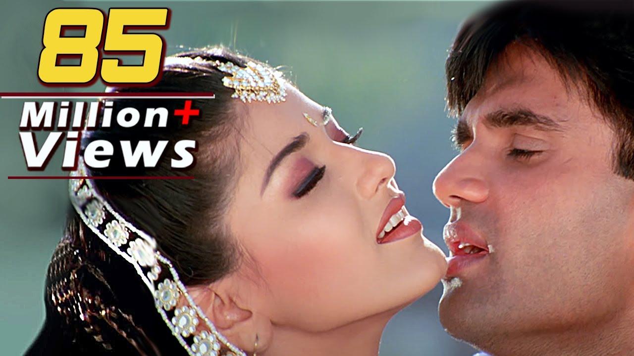Download 'Kajal Kajal Teri Aankhon Ka' Full Video 4K Song - Sonali Bendre, Sunil Shetty | Sapoot