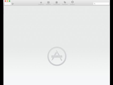 MAC OS X - App Store Not Loading - App Store Blank - Fix
