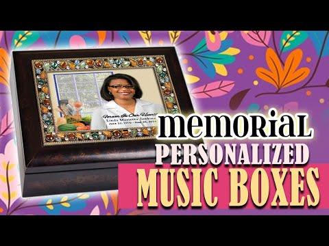 Memorial Keepsake Music Box