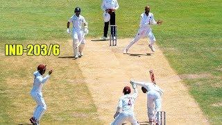 India vs West Indies 1st Test Day 1 Highlights | Ajinkya Rahane | Kemar Roach