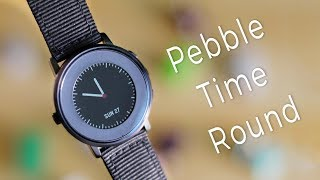 Pebble Time Round Review 2017