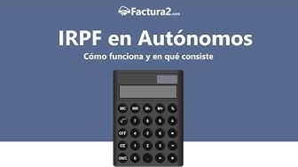 IRPF en autónomos