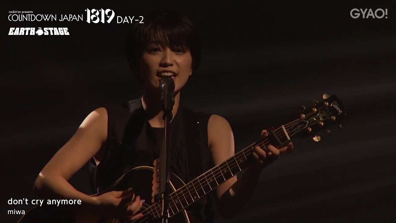 miwa「don't cry anymore」(COUNTDOWN JAPAN 18/19 DAY-2) - YouTube