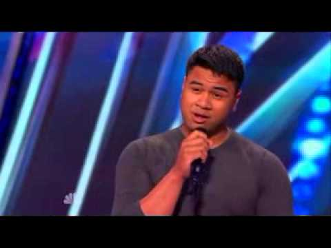 US Marine soldier Singing on AGT 2014
