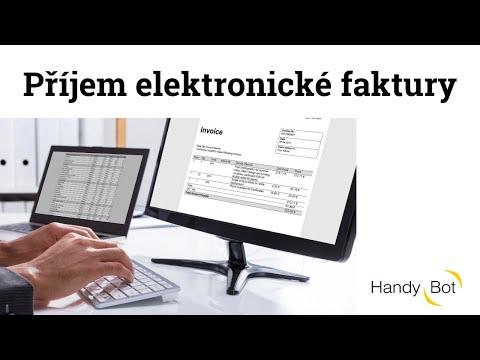 Příjem elektronické faktury