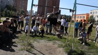 Соревнования по Street Workout г.Нижний Новгород(22.07.2012)