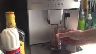 Faire un Irish coffee (en français café irlandais) avec une machine à café expresso