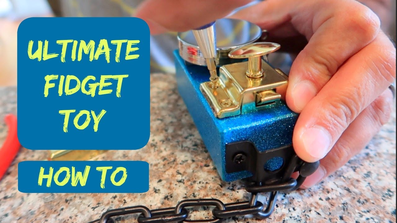 How To Make An Ultimate Homemade Fidget Toy Cube