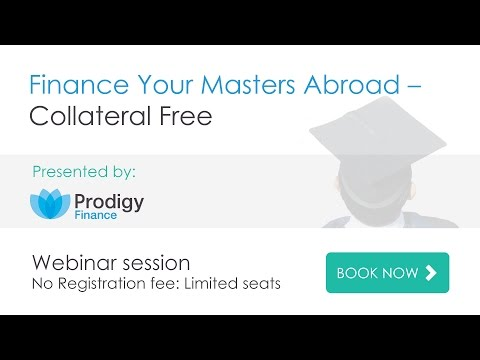 Finance Your Masters Abroad – Collateral Free