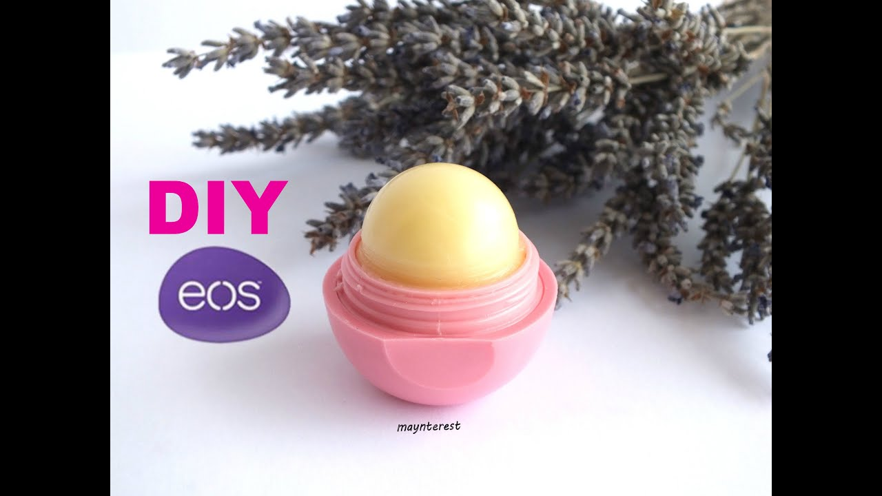 DIY EOS: Homemade lip balm - Organic