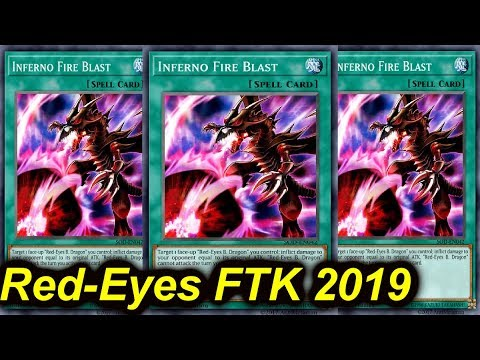 【YGOPRO】RED-EYES FTK DECK 2019