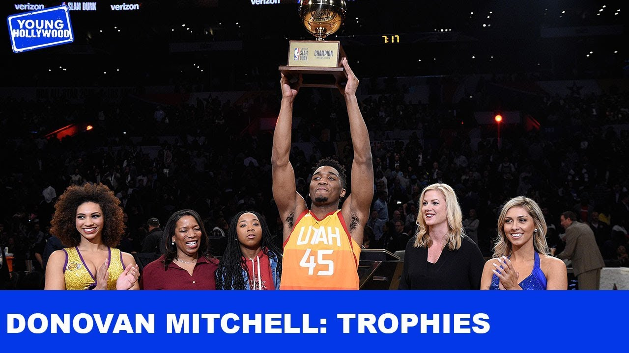 4bf573d9252 Donovan Mitchell Takes You Behind The Scenes Of His Dunk Contest Win