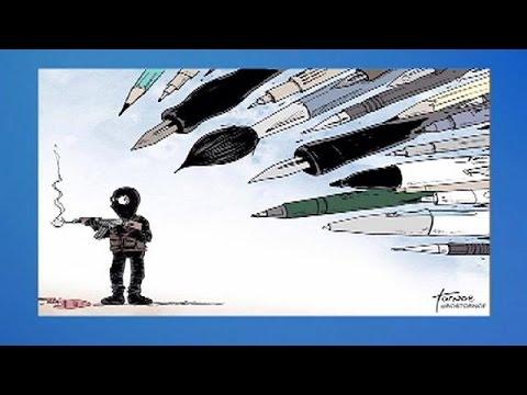 Карикатуры в ответ на теракт в Charlie Hebdo