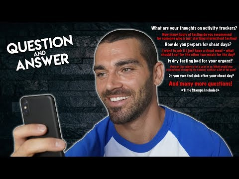 Question & Answer | Activity Trackers | Cheat Meal Strategy | How Long Will I Bulk?