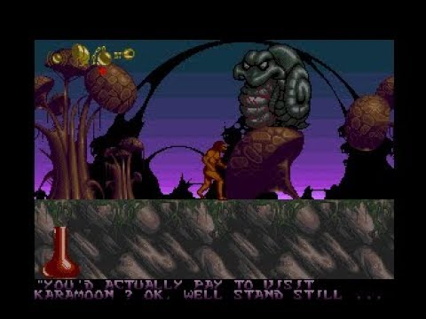 Shadow Of The Beast 2 (Amiga) - A Playguide And Review - By LemonAmiga.com
