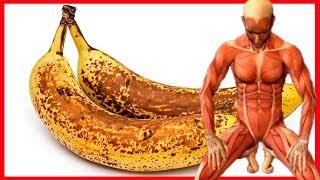 Come 2 BANANOS al día durante 1 mes y mira lo que le sucede a tu cuerpo