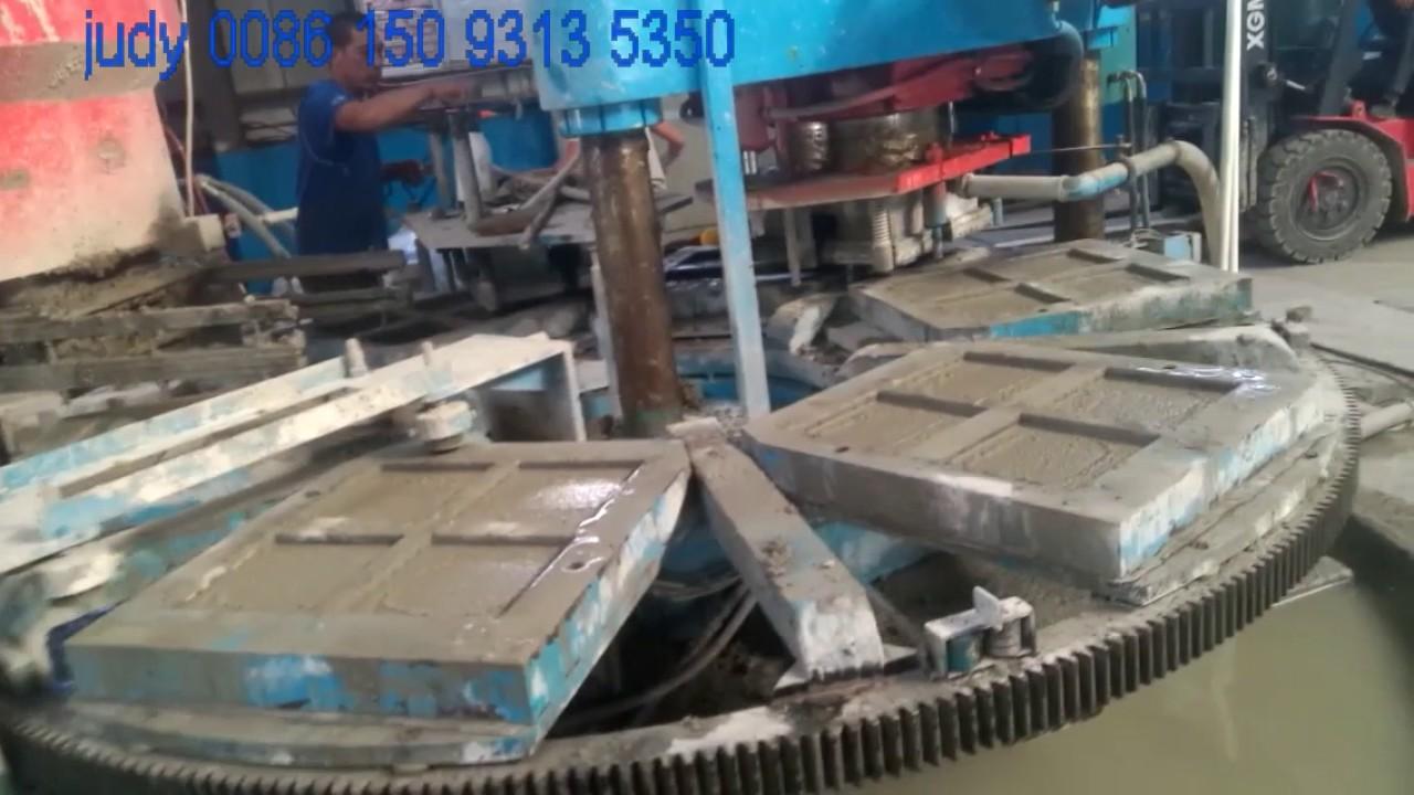 rotary terrazzo tile press machine hight effciency tile making machine