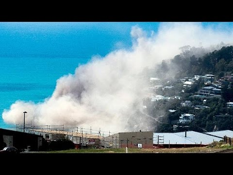 Yeni Zelanda 5.7'lik Depremle Sallandı