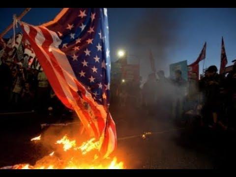 News. In Lebanon, burned stuffed Trump