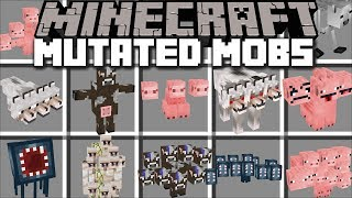 Minecraft MUTATED MOBS MOD / DESTROY THE DANGEROUS MOBS TAKING OVER!! Minecraft