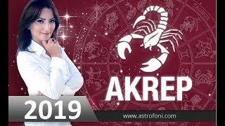 2019 AKREP Burç Yorumları Astrolog #DEMET_BALTACI