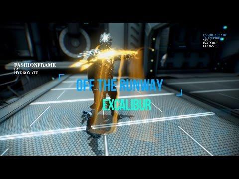 Warframe: Off The Runway - Excalibur Fashionframe