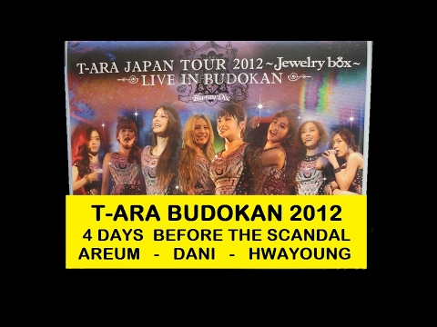 T-ARA 4 Days Before the Scandal: Hwayoung, Areum, & Dani @ Budokan 2012 - Eng Sub & Vietsub