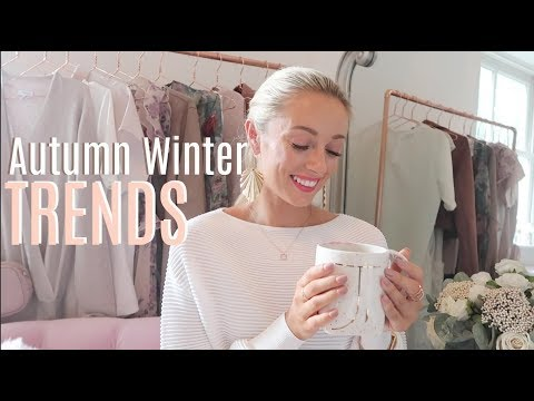 10 AUTUMN WINTER 2017 TRENDS // What To Wear // Fashion Mumblr