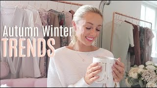 10 AUTUMN WINTER 2017 TRENDS  :: What To Wear  // Fashion Mumblr