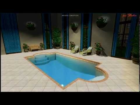 3d splash swimming pool design and construction in for Pool design newcastle