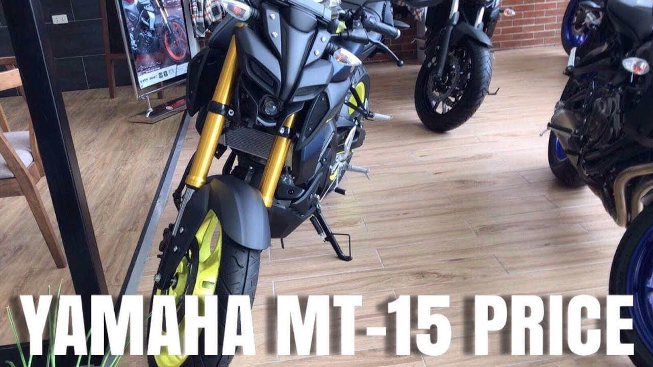Mt 15 Yamaha Price In The Philippines Youtube