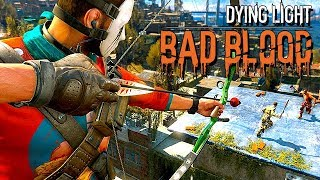 Dying Light Bad Blood Gameplay German - Goldene Waffen OP ?!?!