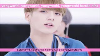Video LIRIK BTS - DNA by GOMAWO [Indo Sub] download MP3, 3GP, MP4, WEBM, AVI, FLV Agustus 2018