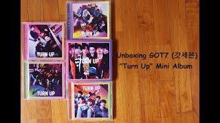"""Unboxing GOT7 (갓세븐) """"Turn Up"""" Mini Album"""