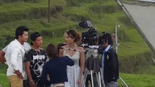 Samragyee RL Saha | New Movie Shoot @ Kakani | Timi Sanga | नयाँ गीत