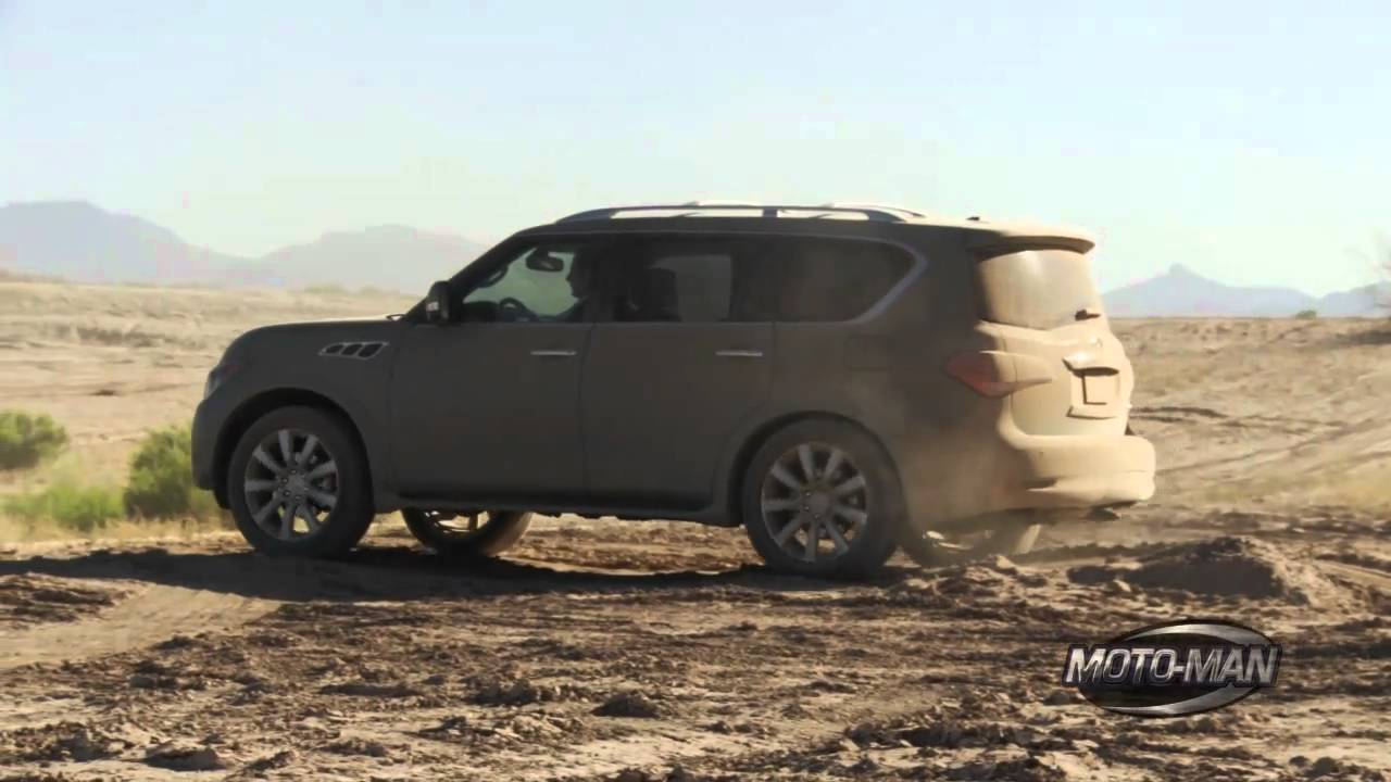Infiniti qx56 off road youtube vanachro Image collections