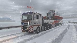 ETS2 1.30.2.2s (Special Transport DLC!!!) - MAN TGX E6 - Brussel (B) - Amsterdam (NL)