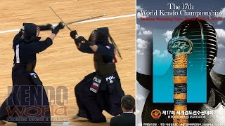 Men's Ind. 2R: Japan vs. Poland - 17th World Kendo Championships (2018)