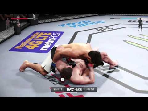 UFC 2 Online Play pt1 - Matt Hughes Blues
