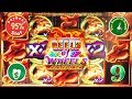 😄 Reels of Wheels Horsepower 95% payback slot machine, 2 Big Win Sessions