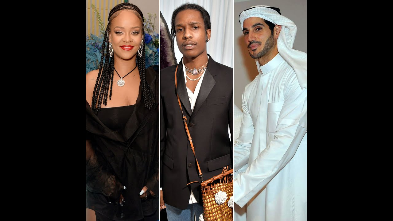 Rihanna Spotted With A$AP Rocky After Hassan Jameel Split