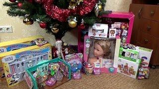 Мои подарки на Новый Год от Деда Мороза(Привет! По Ваши многочисленным просьбам я решила показать Вам подарки от Деда Мороза. Видео от 1 января,..., 2016-01-03T15:42:45.000Z)