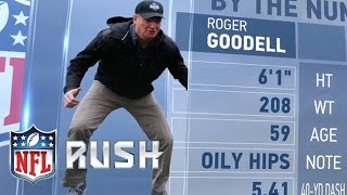 Rodger Goodell Sets the 40-Yard Dash Record! (For Commissioners) | NFL Rush