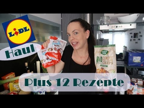 Lidl Food Haul/Plus 12 Rezepte/Mel´s Kanal