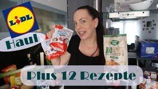 Lidl Food Haul/Plus 12 Rezepte/Mel´s Kanal