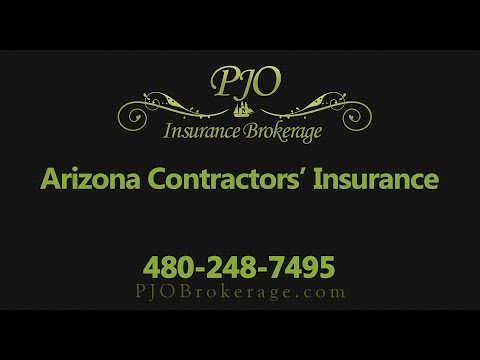 Arizona Contractors Insurance by PJO Insurance Brokerage