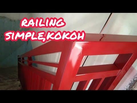 railing-tangga-minimalis,merah-maron-penta-glos