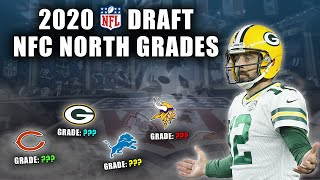 2020 NFL Draft Grades | All 7-Rounds | NFC North | The Worst Draft Grade I've Ever Given A Team