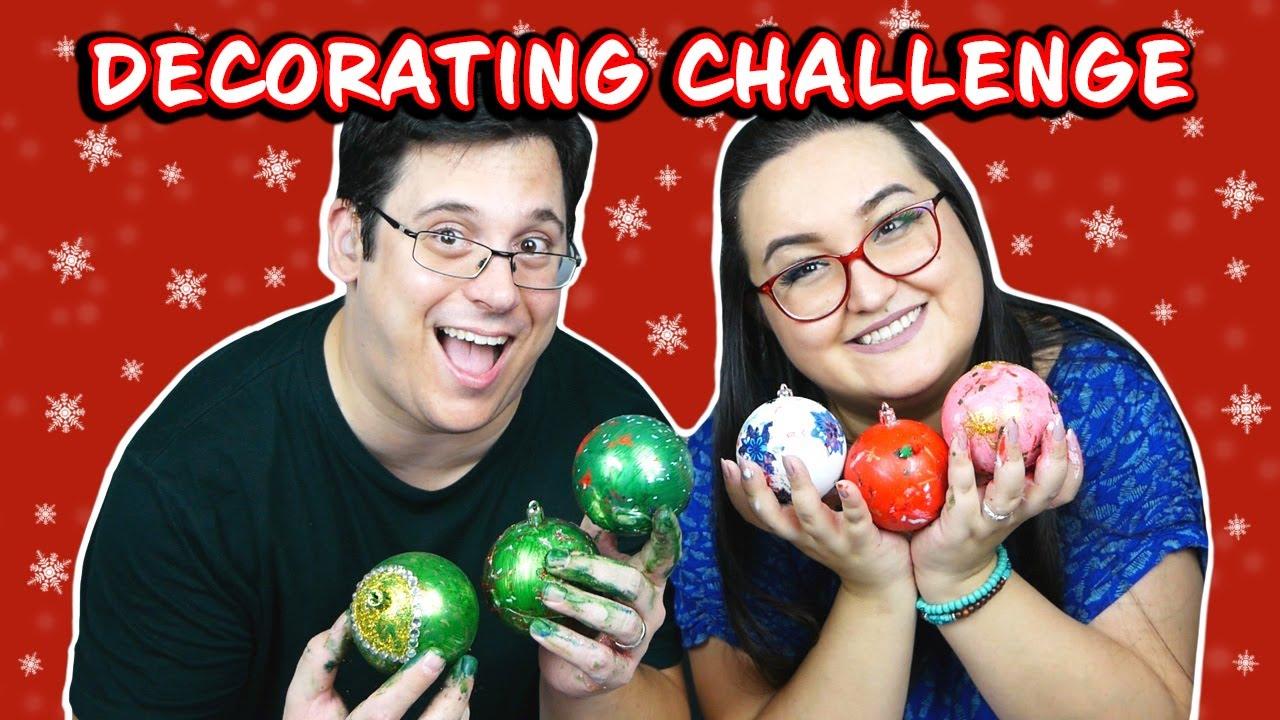 Christmas Ornaments Decorating Challenge | VLOGMAS 2020 (CC)