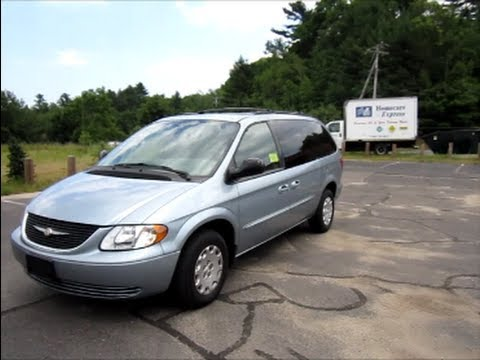 2003 Chrysler Town Country Start Up Engine In Depth Tour